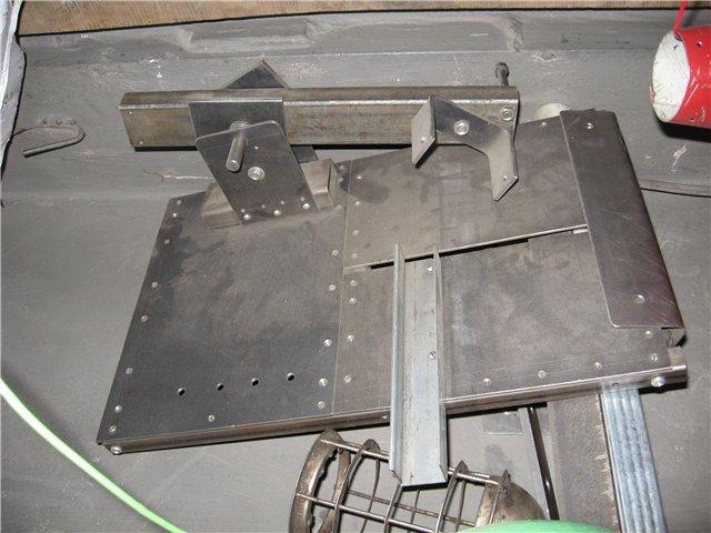 Стационарная рама-стол