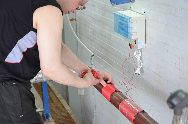 Электромагнитный фильтр для воды АкваЩит Ду 60 в котельной г. Москвы