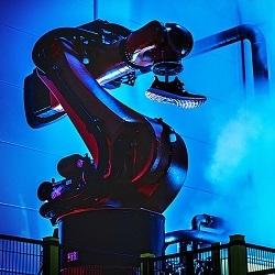 Кроссовки производятся роботом