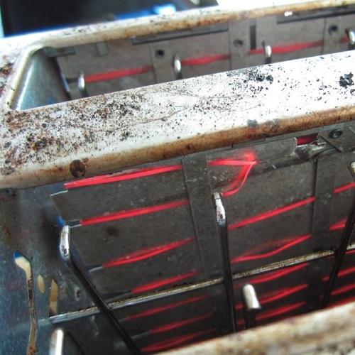 Нагревательный элемент в тостере
