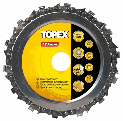 Диск Topex 125mm