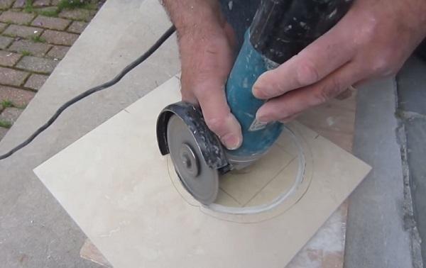 Фрезер для керамической плитки