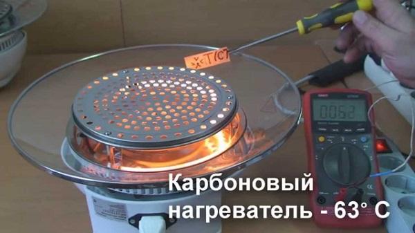 Карбоновый нагреватель