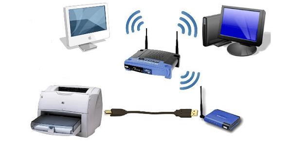 Схема подключения через Wi-fi