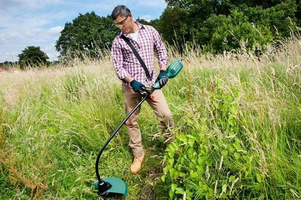 Триммер для высокой травы