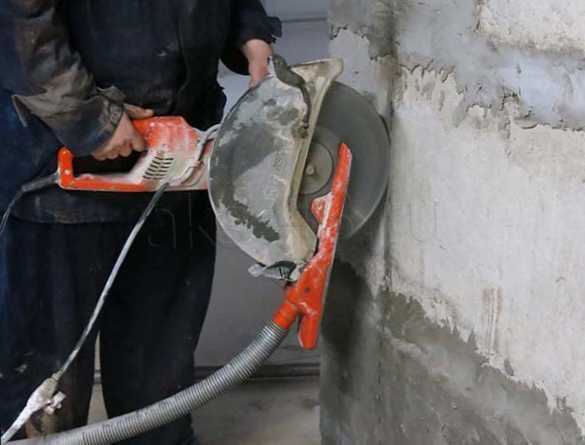 Кожух для резки бетона