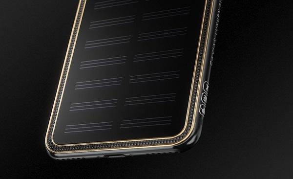 iPhone X от солнечной батареи