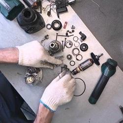 Разборка и ремонт перфоратора своими руками