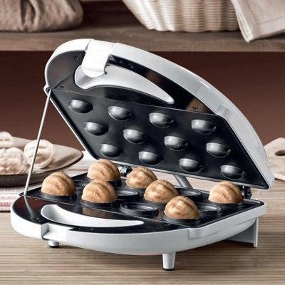 Орешки в вафельнице
