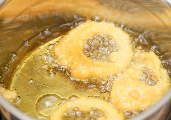 Масло во фритюрнице