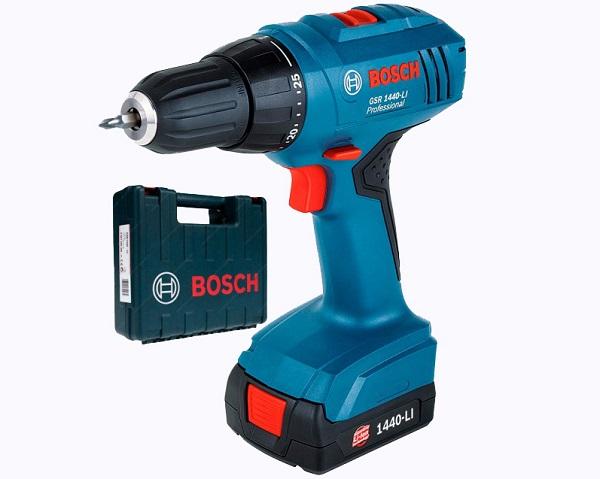 Bosch GSR 1440-LI 1.5Ah x2 Case
