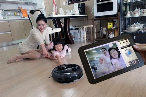 Робот-пылесос с камерой