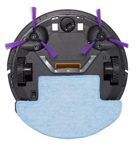 Робот-пылесос вид снизу
