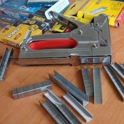 Как подобрать скобы для мебельного степлера