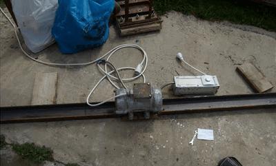 Подключение кабеля питания