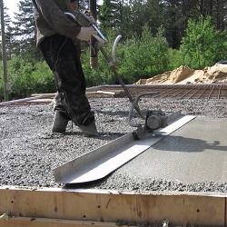 Выбираем виброрейку для укладки бетона