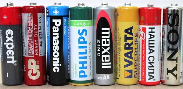 Одноразовые батарейки
