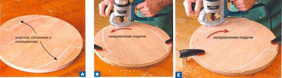 Фрезерование деревянных деталей