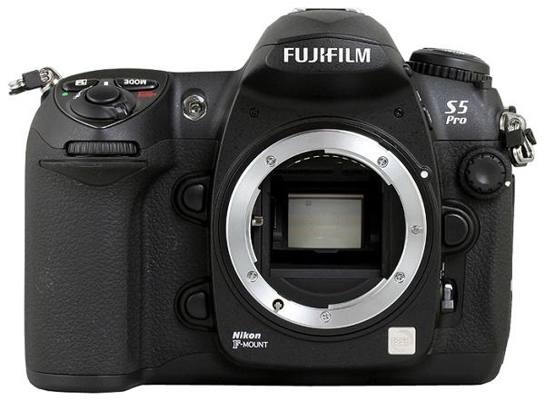 Fujifilm FinePix S5 Pro Body