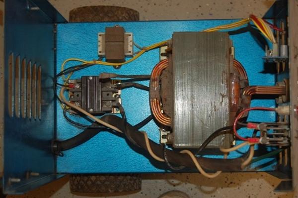 Что можно сделать из сварочного трансформатора