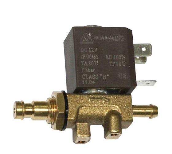 Электромагнитный запорный клапан