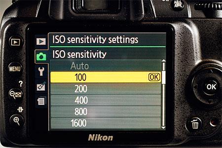 ISO фотоаппарата