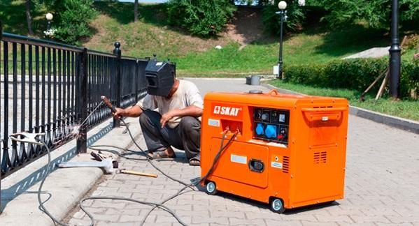 Электрогенератор для сварки