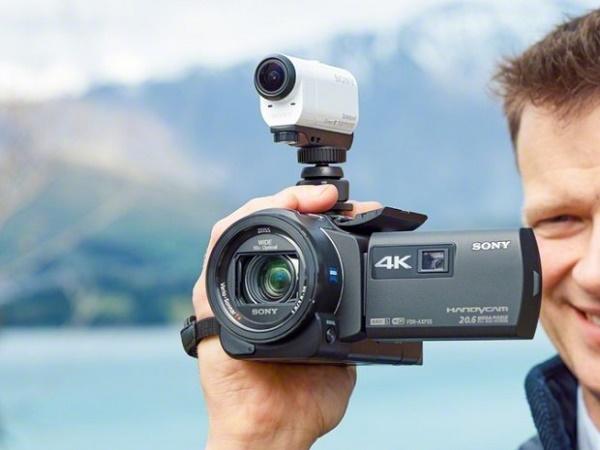 Съемка видеокамерой на весу