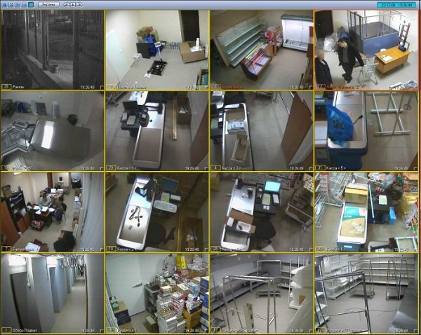 Кадры с камеры