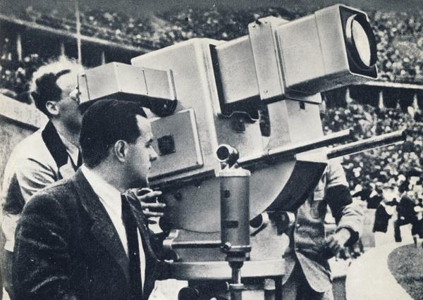 Первая видеокамера