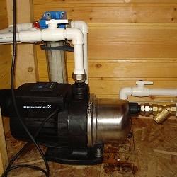 Как работает насосная станция для домашнего водопровода