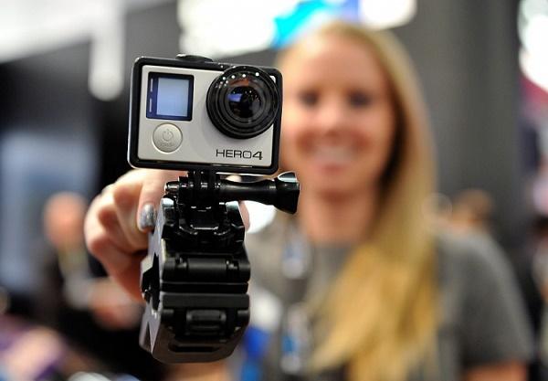 Блогер с экшн-камерой