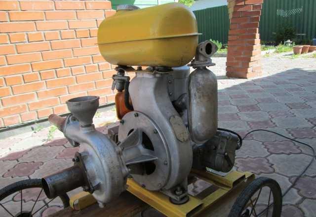 Насос с двигателем внутреннего сгорания