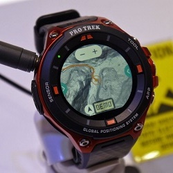 Часы Casio ProTrek Smart WSD-F20