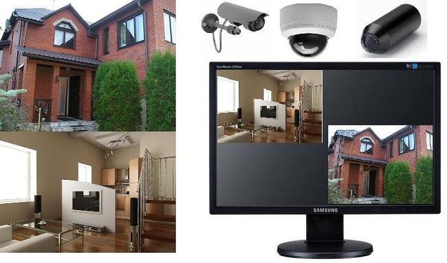 Камеры в частном доме