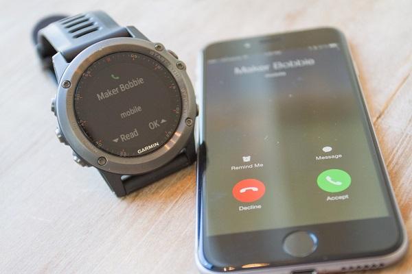 Синхронизация часов со смартфоном