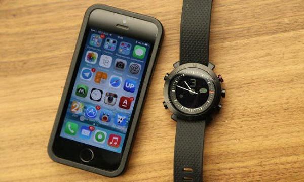 Синхронизация часов с телефоном