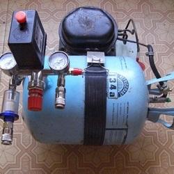Как самому собрать воздушный электрический компрессор