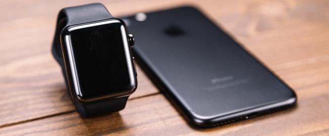 Смартфон и часы