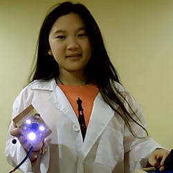 12-летняя американка придумала робота-мусорщика