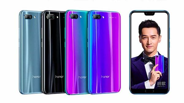 Honor 10 цвет
