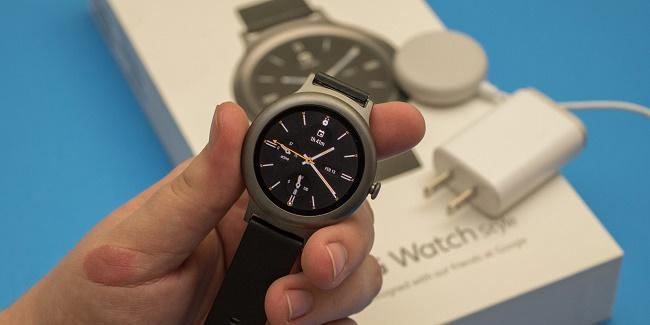 LG Watch Style в руках