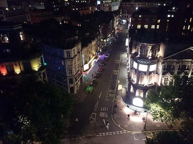 Пример снимка в ночное время