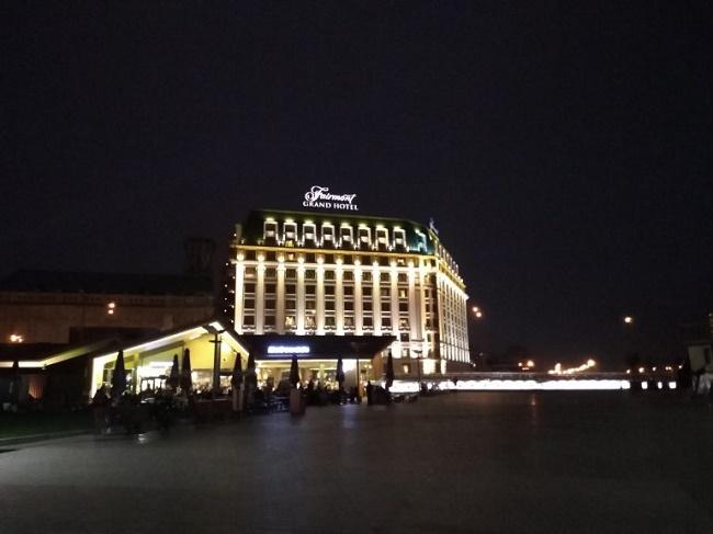 Пример фото ночью
