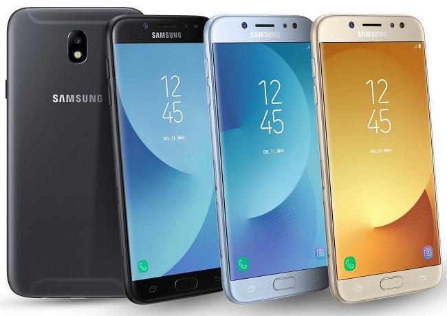 Цвета Samsung Galaxy J7 2017