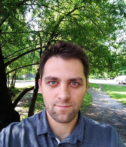 Пример фото с фронтальной камеры