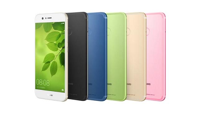 Возможные цвета Huawei Nova 2