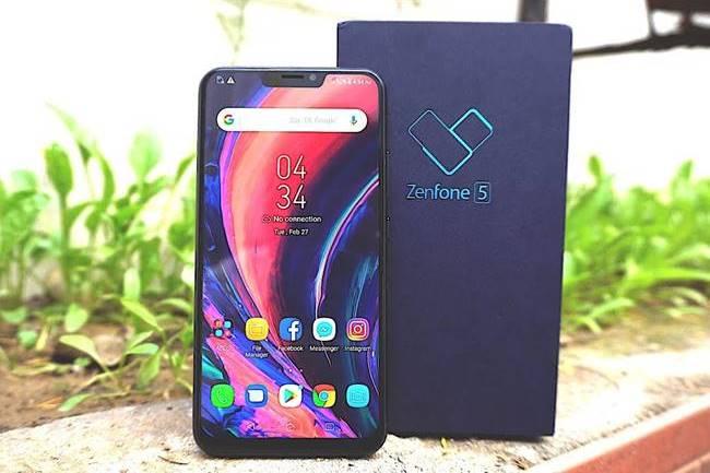 Asus Zenfone 5 с упаковкой