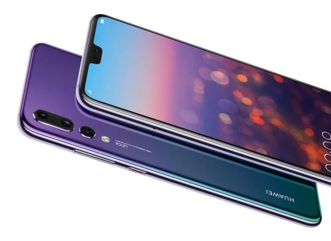 лицевая и задняя панель смартфона