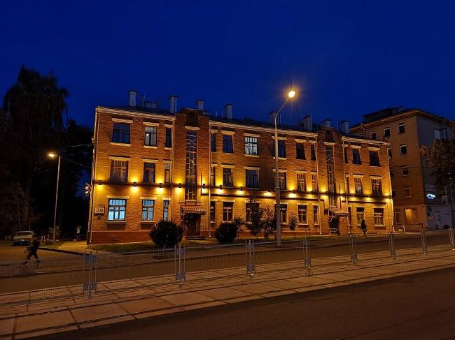 Фото ночью Хуавей